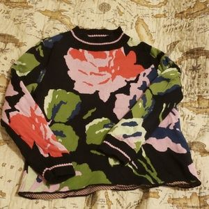 Beautiful floral sweater